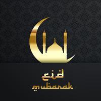 Achtergrond voor Eid vector