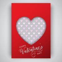 Valentijnsdag hart achtergrond