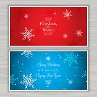 Kerst achtergronden vector