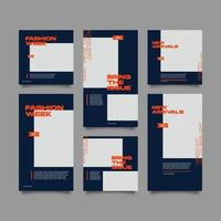 creatieve verhalen en postverzamelingsset