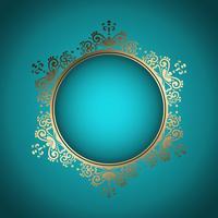 Decoratief frame achtergrond vector