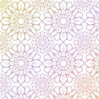 Bloemmotief achtergrond vector
