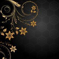 Decoratieve bloemenachtergrond vector