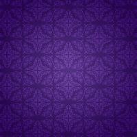 Paarse damast patroon achtergrond vector