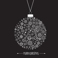 Kerst decoratie achtergrond vector