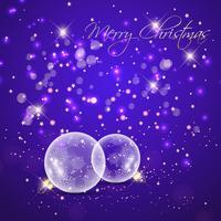 Kerstballen vector