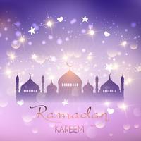 Ramadan achtergrond vector