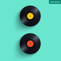 vinylplaten vector