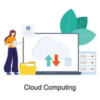 cloud computing-netwerkconcept
