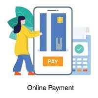 online bankieren en betalingsconcept