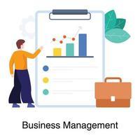 bedrijfs- en managementconcept