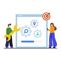 zoekmachine optimalisatie concept