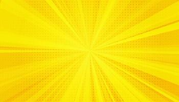 gele strips popart achtergrond. gradiënt halftone pop-art retro stijl