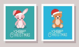 vrolijke kerstkaartenset