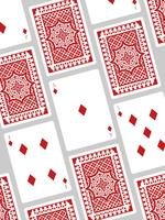 Leuke speelkaartvectoren vector