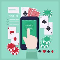Vector speelkaarten App