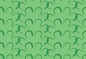 hand getrokken, groene kleuren vormen patroon vector