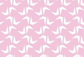 hand getrokken, roze, witte kleuren vormen naadloos patroon vector