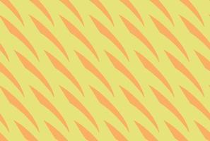 hand getrokken, geel, oranje kleur oranjegeel naadloos patroon vector