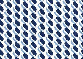 hand getrokken, blauwe, witte kleur vormen naadloze patroon vector