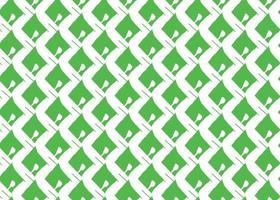 hand getrokken, groen, wit naadloze kleurenpatroon vector