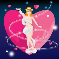 Aphrodite liefde illustratie