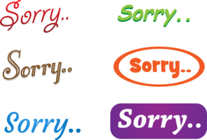 6 Sorry vectoren