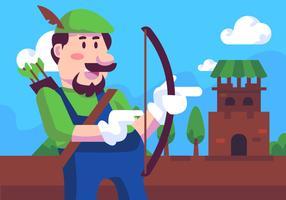 Video Game Pijlstrijder