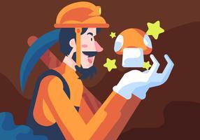 videogame ondergrondse mijnbouw