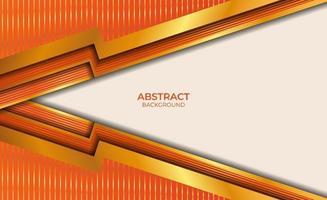 abstracte oranje en gouden achtergrond