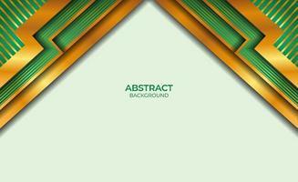 achtergrond gouden en groene stijl abstract