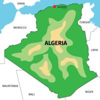 Algerije vector