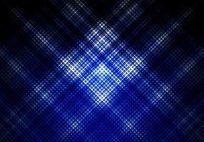 abstracte blauwe en zwarte kleur achtergrond met vierkante raster diagonale strepen