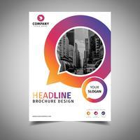 Coole zakelijke brochure vector