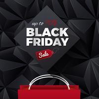 Black Friday-verkoop Abstracte Achtergrond vector