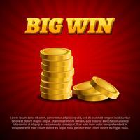 Casino geld vector