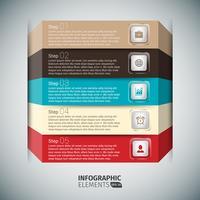Presentatiekaart zakelijke Infographics