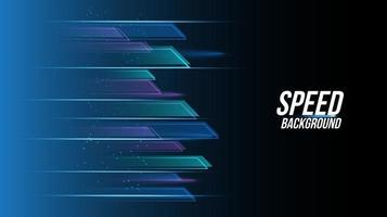 abstracte achtergrondtechnologie hoge snelheid racen voor sport vector