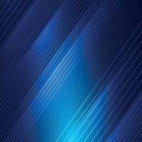 abstracte blauwe achtergrond met witte lijnen - vector