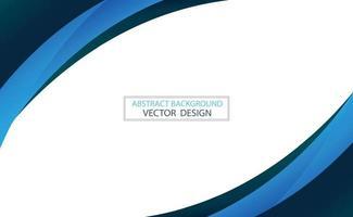 abstracte websjabloon zwarte en blauwe lijnen op witte achtergrond - vector