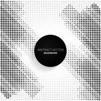 Halftone abstracte achtergrond met puntjes vector