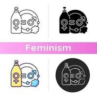 verdeling van huishoudelijke arbeid pictogram