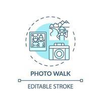 foto lopen concept pictogram vector