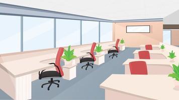 lege kantoor achtergrond illustratie vector