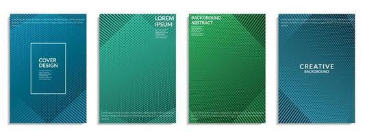 abstract dekkings kleurrijk geometrisch vormontwerp vector