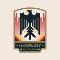 Duitsland World Cup Soccer Badges vector