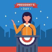 Verenigde Staten van Amerika, het concept van de dag van de president