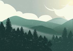 Nationaal park vector ontwerp