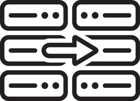 lijn pictogram voor kopiëren