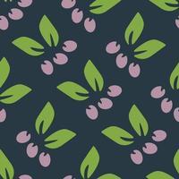eenvoudig bloemen naadloos patroon.